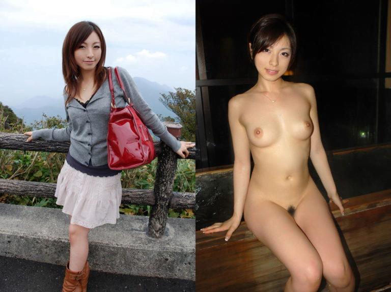 img 5f2a59bcd24d4 - 女の子の服を着ている画像とエロくなってる画像を比較した結果。画像30枚