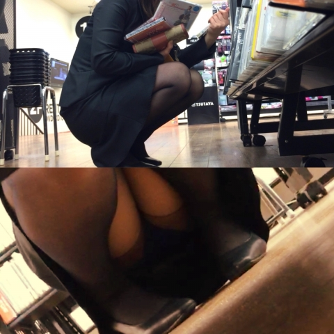 img 5fb50b68bd0d1 - かわいらしく内股で座るタイトスカートのOLさんを真正面から撮った画像がこちらwww