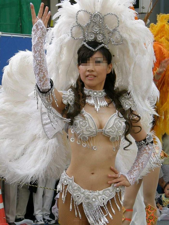 img 5fc8dac2f2d78 - 少し物足りないボディで頑張って踊る日本のサンバダンサーがかわいい