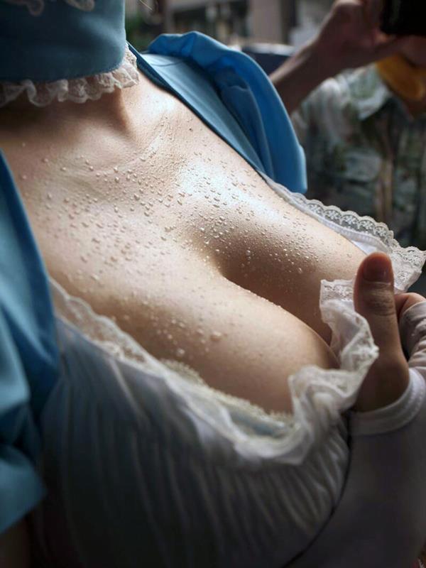img 610106dd550cc - 【フェチ】ネットで見つけた汗だくな女の子の画像集!